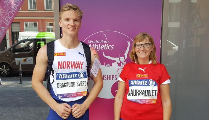 Sjetteplass til Saursaunet og syvendeplass til Sverd